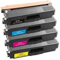Zestaw 4x toner do BROTHER TN325 CMYK zamienniki
