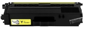 Toner do Brother TN321/331 żółty / yellow 100% nowy zamiennik